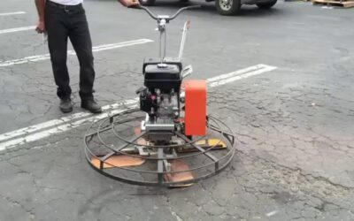 Getting Trowel Machines For Concrete Leveling